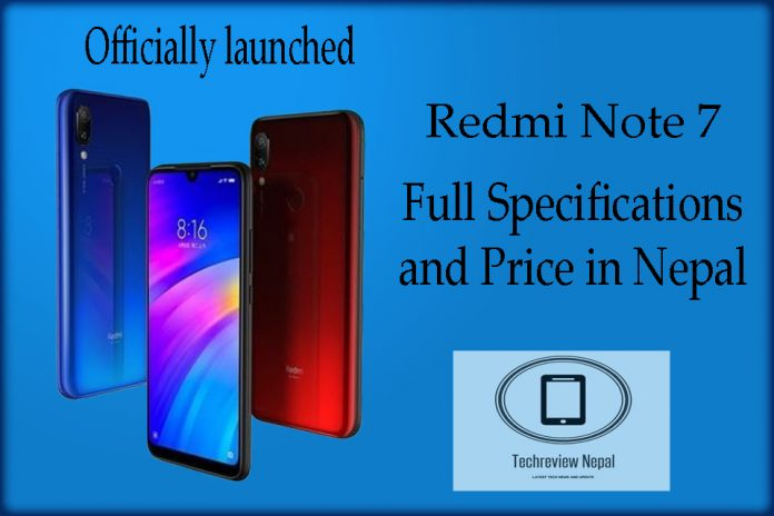 Redmi Note 7 Price in Nepal