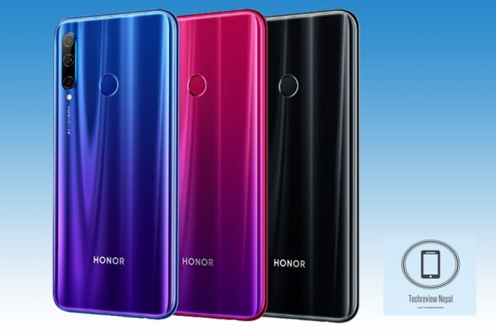 honor 20 lite price in nepal