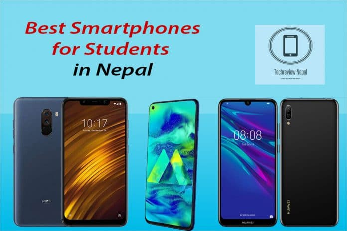 Smartphone for student in Nepal