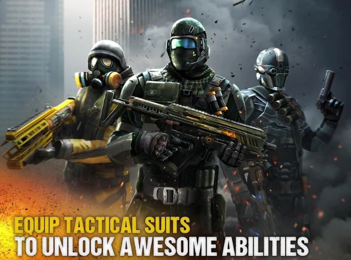 android games modern combat 5 with best graphics