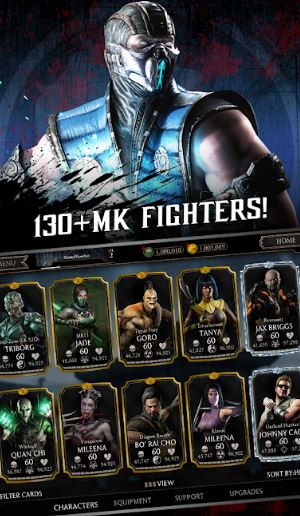 mortal-kombat android games with best graphics